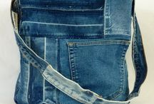 Denim,redesign / Gjenbruk av jeans