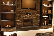Home Decor: Dream Basements / Basements don't have to be boring! Here are some dream basements for home decor inspiration.