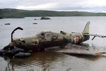 Wrecked / wrecked airplanes