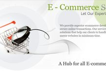 Turn to Ecommerce Solutions for Better Online Exposure / Ecommerce is now a common concept and thus, understanding what are ecommerce websites would not be much difficult. Ecommerce is electronic commerce where commercial activities take place over the internet. Ecommerce mainly involves buying and selling of commodities through the internet – the websites that support such trading are known as ecommerce websites. If you are willing to develop ecommerce website for your business then you would need professional help.