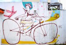 Bike art / by Wind-Blox Sports
