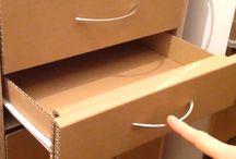 DIY Furniture cardboard box