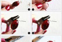 Creare bracciali e orecchini