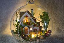 Bolas cristal Navidad