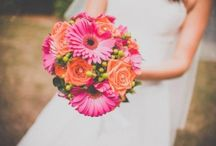 Flowers | Colour / We love weddings with lots of colour, it adds personality and makes us happy! :-)