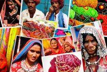 Voyage en Inde : Rajasthan vêtements