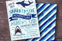Partytjie idees - Shark