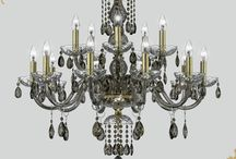 """Golden Teak Crystal Chandeliers / Emerging from the 14th century and evolving into what we today name """"chandeliers"""" were always a status symbol. GrandoLuce #chandeliers are carefully designed not only as a main light source but also as a unique luxurious decorative indoor element. Handmade glass, crystal, gold or silver leaf, chrome finish, crystal trimmings, all combined with harmony to create elegance and beauty. Browse online at http://www.grandoluce.com/lighting-fixtures/chandeliers"""