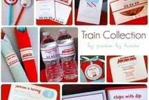 Train Party Inspiration  / by Jennifer Perez ~ Petit Delights