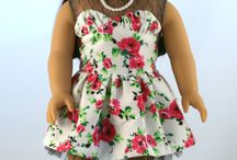 Blossom Dress For Dolls