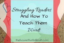 Struggling readers Education