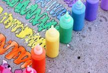 Childrens art/science