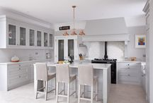 South Dublin / Bespoke, handmade, handpainted solid wood kitchen