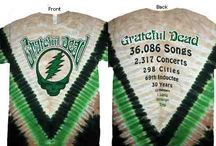 Grateful Dead T-Shirts / by Sunshine Daydream Hippie Record Shop