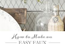 Cute DIYs / simple DIY, easy DIY, holiday DIY, homemade crafts