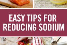 Low Sodium Tips & Recipes