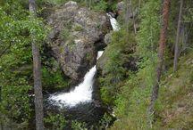 Putaanköngäs / Putaankönkään upea vesiputous Oulangan kansallispuistossa Kuusamossa