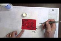 Video Rubber Stamp Tutorials / Videos I have filmed showing various Rubber stamp techniques / by DDStamps