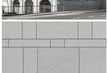 Facade tiling pattern