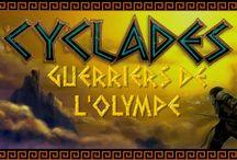 """Cyclades / Préface de mon extension """"Les guerriers de l'Olympe"""""""