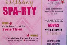 Invitation Creations / Custom Made Invites done by Fabulous Freddies Events