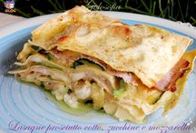 lasagne zucchini e mozarella