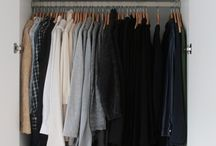 Wardrobe storage ideas / by Betty and Violet