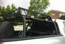 Dachzelt auf Ladefläche Pick-Up