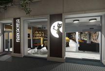 Francachela / Proyecto para una cafetería/restaurante/pub en Valencia