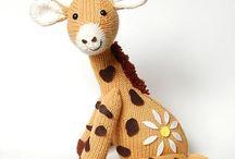 Giraffe Knitting Pattern Free