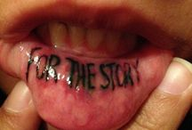 Lippen Tattoo