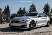 BMW 4 Series Fitted with 20 Inch BD-2's in Full Graphite / Go to www.blaquediamond.com to check out our full range