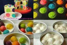 Children in need spotty cake