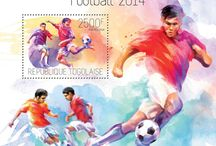 Special offer by STAMPERIJA | No. S12 / FOOTBALL - BRAZIL 2014
