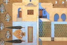 Egyptian urban / buildings, houses and living architecture in modern Egypt