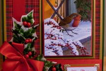 Handmade Christmas Cards and Decorations by Card Art Creations / All Christmas cards on this board are designed by Yvonne Tune Card Art Kilcoole,  http://cardartblogkilcoole.blogspot.ie