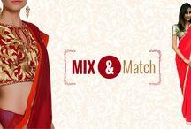 red #chiffon #saree