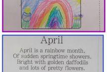 April at School