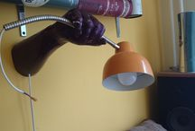 Hand lamp / Upcycling