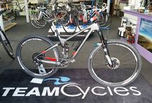Custom Builds at Team Cycles / All available to be built in-store, creating the perfectly suited bike for your needs!