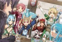 Sword Art Online / O Anime quê eu criticava tanto e que ágora faz parte da minha Vida!