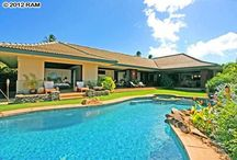 Homes of Hawaii / Some of our favorite architecture of homes around Maui, Hawaii.