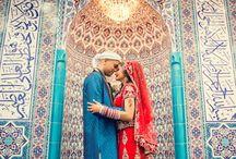 Muslim Wedding / Bridal fashion at Muslim weddings