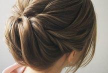 Hair for Akinas wedding