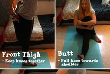 Stretches / Health and fitness