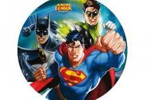 Justice League / Parties Suppllies for Justice League  théme