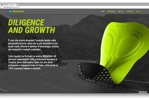Green Lime   OKCS online, offline communication / Design e sviluppo sito web, logo e immagine coordinata per azienda produttrice di fondelli da ciclismo