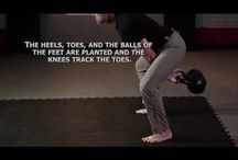 Kettlebells / All things kettlebell: exercises, tutorials and workouts for this fun piece of equipment.