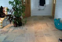 Fossil Sandstone Tiles from Indian. / Sandstone from Indian - Fossil Sandstone