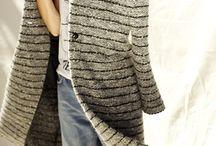 stripes coat